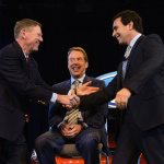 Ford Motor Company Executive Chairman Bill Ford announced today that Alan Mulally has decided to retire from the company July 1 and Mark Fields will be named Ford president and chief executive officer and elected as a member of the company's board of directors. (Photo: Business Wire)