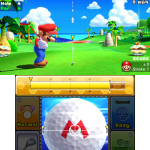 Mario returns to the green in Mario Golf: World Tour. (Photo: Business Wire)