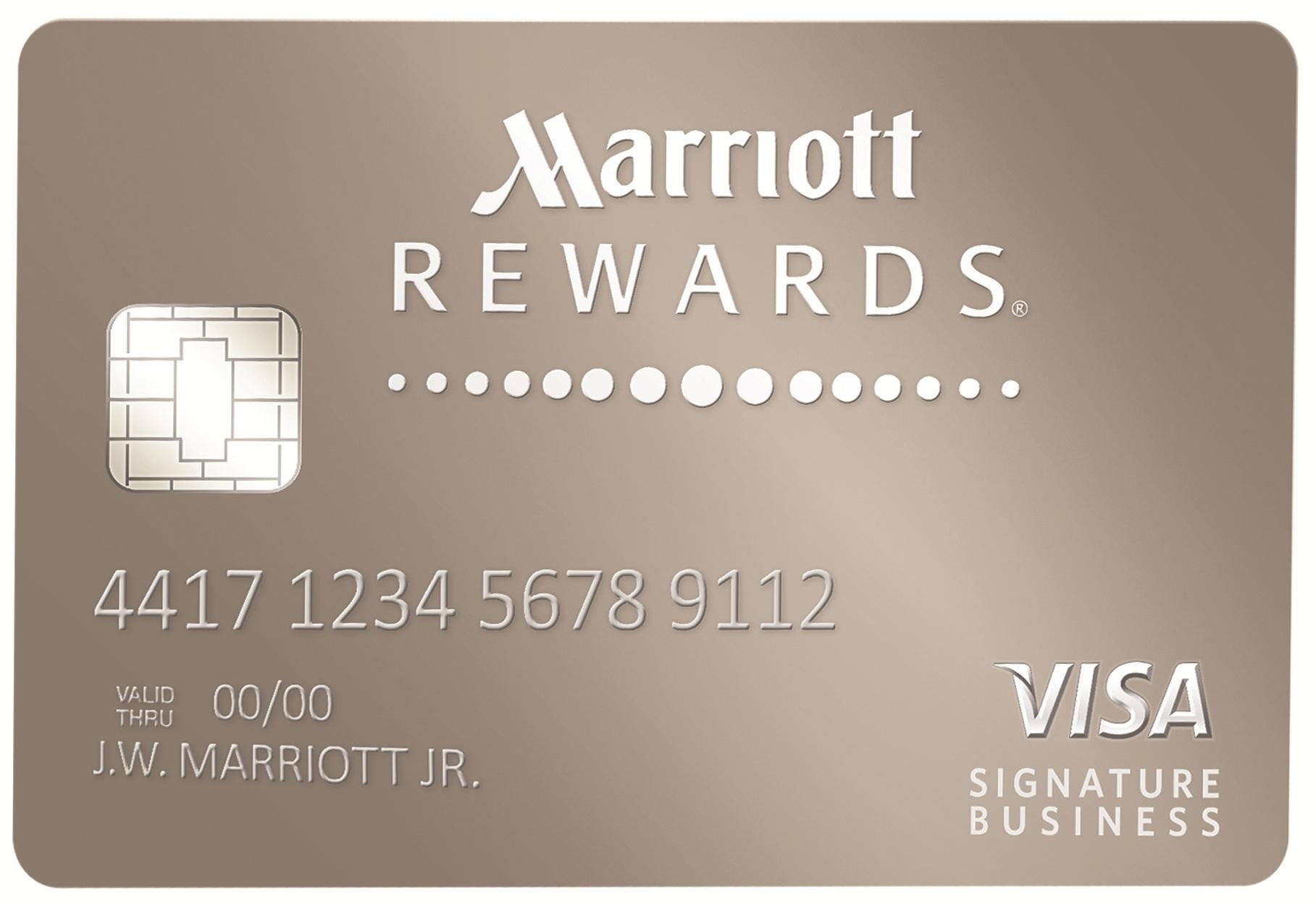 chase launches marriott rewards premier visa signature business