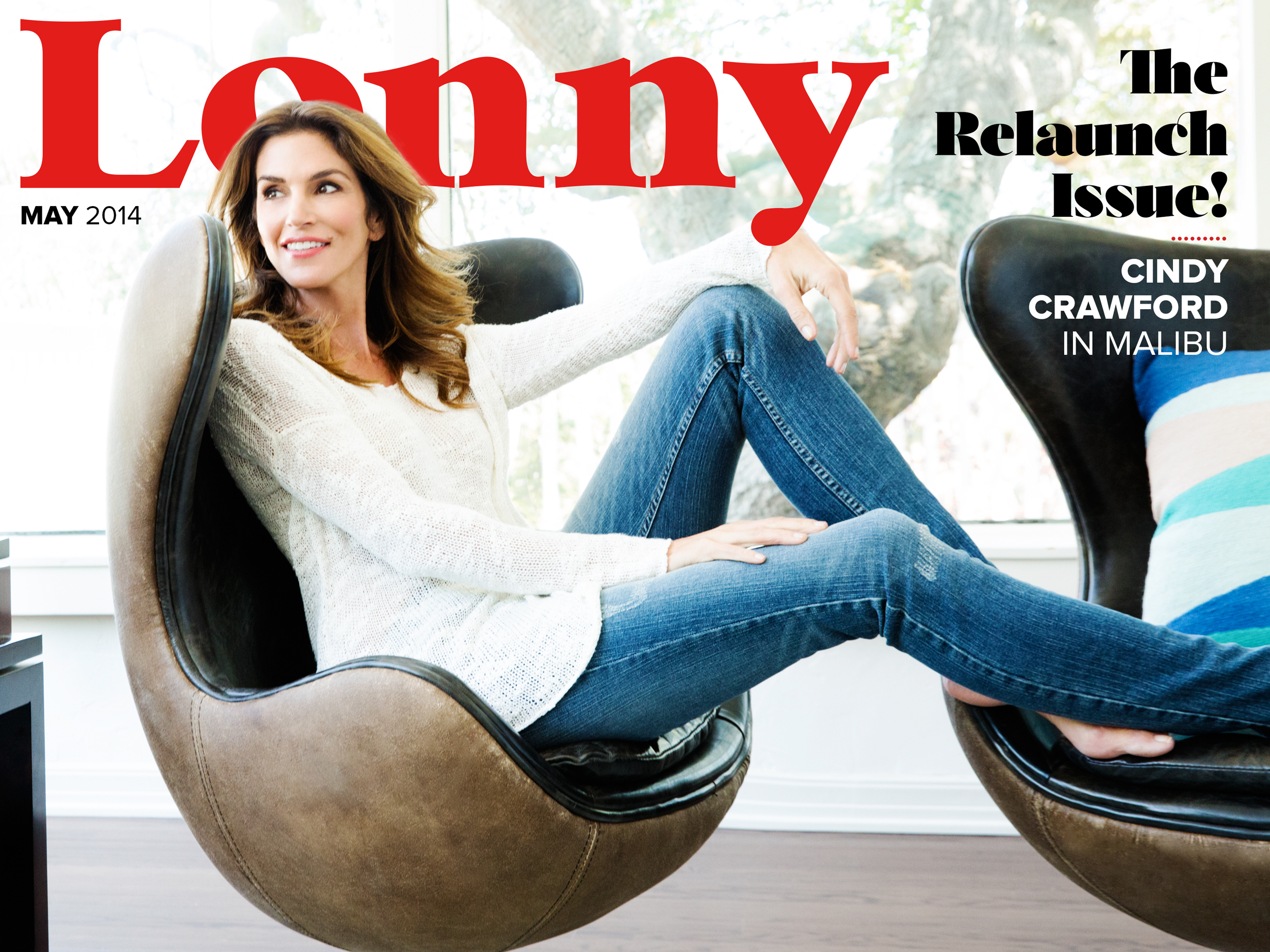Lonny magazine launches today with a totally redesigned format for its May issue (Photo: Business Wire)