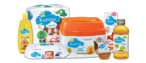 BI-LO Introduces Kuddles, Its New Line of Quality, Affordable Baby Essentials (Graphic: Business Wire)
