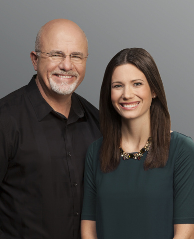 New York Times best-selling authors Dave Ramsey and Rachel Cruze (Photo: Business Wire)