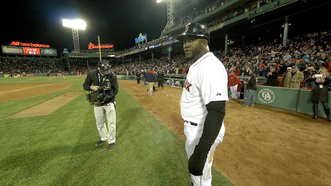 David Ortiz In the Moment. World Television Premiere July 17, 2014 at 8pm ET/PT (Photo: Business Wire)