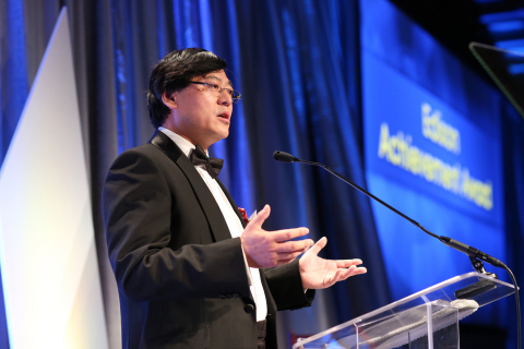 Lenovo Chairman & CEO Yang Yuanqing honored with Edison Achievement Award for Innovation Lenovo Chai ...