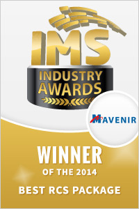 MAVENIR(TM) Virtualized RCS Solution Wins Best RCS at 2014 IMS Industry Awards