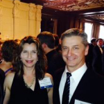 Martin Peery (right) and Kimberly Kupiecki (left) of Dow Water & Process Solutions were presented with the Bronze Edison Award for FILMTEC ECO Reverse Osmosis Elements at the 2014 Edison Awards Gala in San Francisco April 30. (Photo: Business Wire)