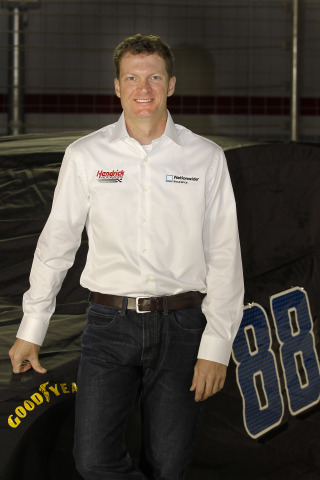 Nationwide Insurance To Sponsor No. 88 Sprint Cup Team (Photo: Business Wire)