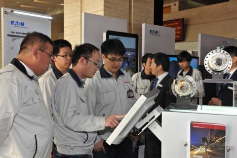 Eaton signed a framework agreement with Great Wall Motors during a Tech Day event at the Chinese automaker's Baoding facility. (Photo: Business Wire)