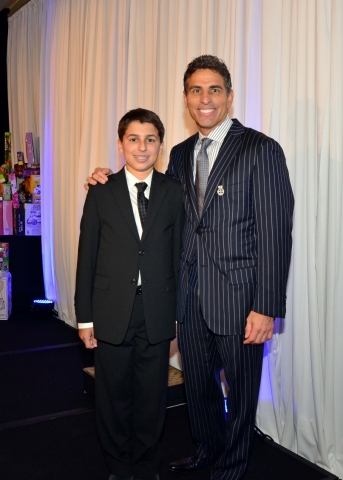 Austin Ricci and his father Kenn Ricci (Photo: Business Wire)