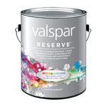 Valspar Reserve Interior Paint + Primer with HydroChroma Technology (Photo: Business Wire)