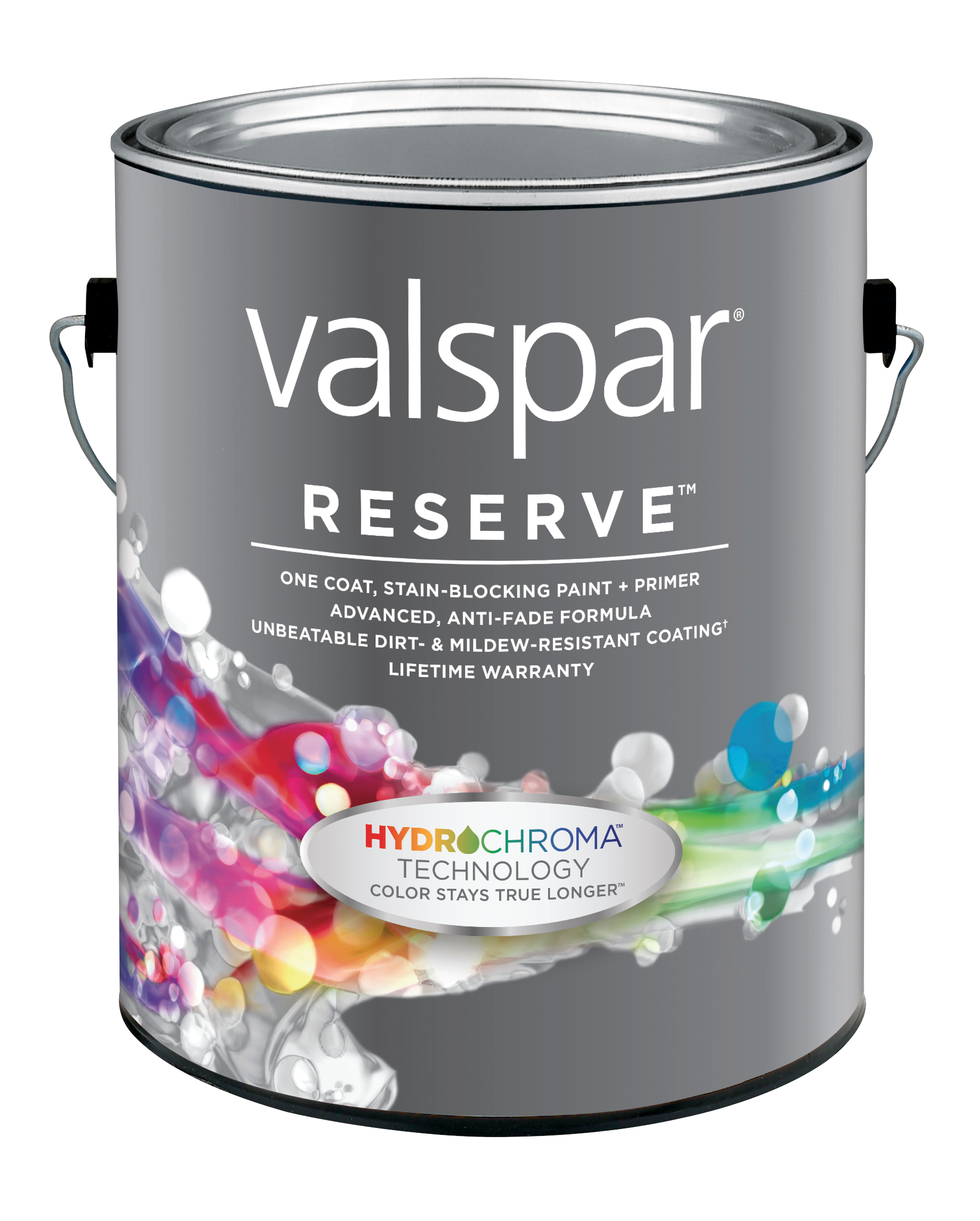 Valspar Reserve Exterior Paint + Primer with HydroChroma Technology (Photo: Business Wire)