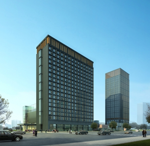 Four Points by Sheraton Hefei Shushan, Exterior Rendering (Photo: Business Wire)