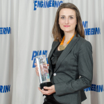 Eva Jelezova accepts Littelfuse Product of the Year Award (Photo: Business Wire)