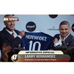 """Larry Hernandez: El Futbolista"" takes Hernandez from the stage to soccer field as MVP; mun2.tv original created for season three premiere of ""Larrymania"" Sundays at 9pm EST/ 8 CST. (Photo: Business Wire)"