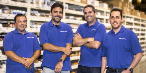 L-R: CIO William Perez, CEO Jose Prendes, CMO Daniel Moure, COO David Rodriguez. (Photo: Business Wire)