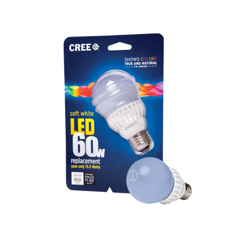 The Home Depot rolls out Cree's TW Series LED Bulb nationwide. (Photo: Business Wire)