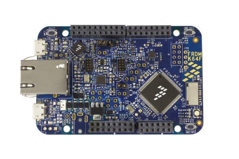Freescale Freedom Kinetis K64F Development Board (Photo: Business Wire).