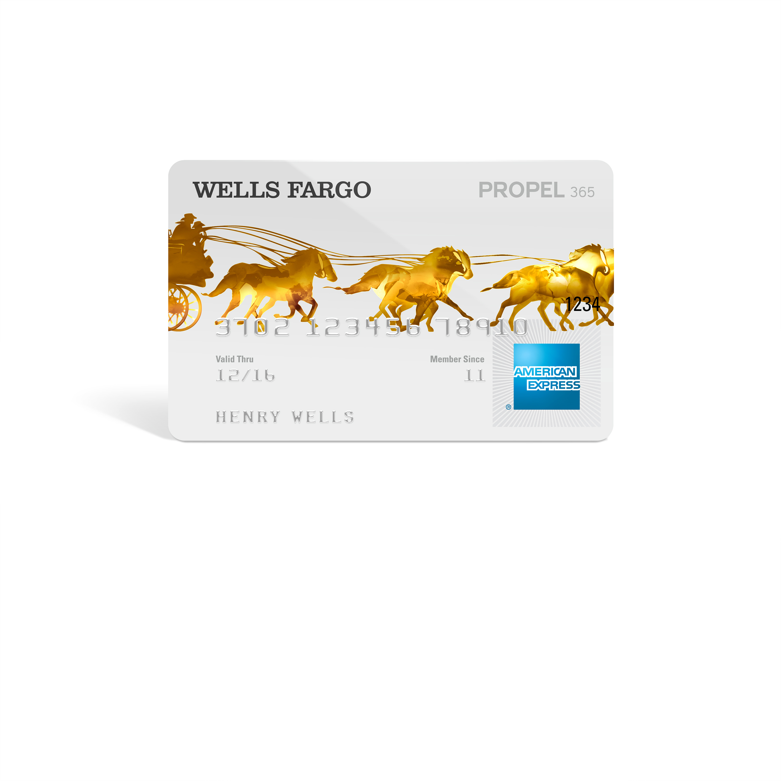 Wells Fargo Propel 365 American Express(R) Card (Photo: Business Wire)