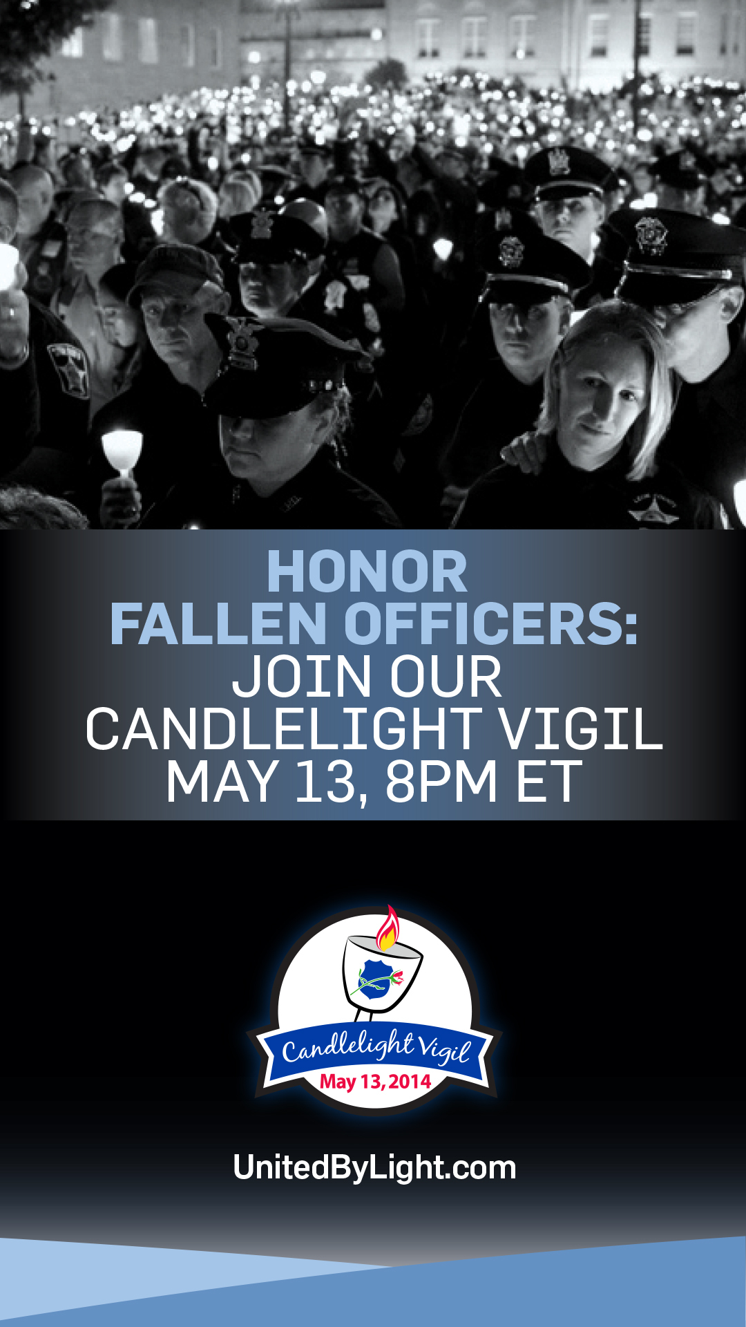 Clear Channel and the National Law Enforcement Officers Memorial Fund invite the public to join in honoring fallen officers through a livestream May 13 from the Officers Memorial in Washington, D.C. (Photo: Business Wire)