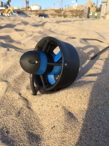 Thruster-100, designed by BlueRobotics, named Cool Idea! Award recipient. The device can be used for aquatic exploration. (Photo: BlueRobotics)