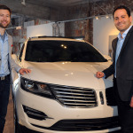 The 2015 Lincoln MKC, the brand's first small premium utility, is engaging the senses through a tour of cities this spring. On Monday, May 5, Dillon