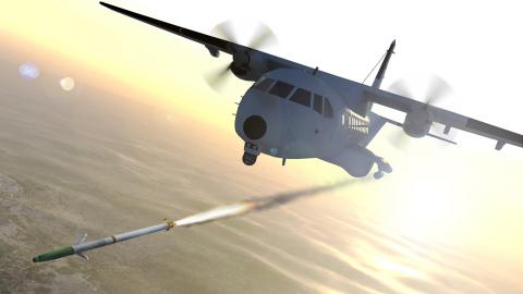 Kingdom of Jordan to deploy BAE Systems' APKWS rocket on its CASA-235 light gunship aircraft. (Photo: BAE Systems)