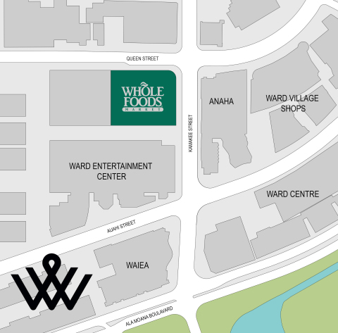 The Howard Hughes Corporation® Announces Whole Foods Market® Will Open Flagship Store at Ward Village - Long Awaited Grocer to Open in the Heart of Honolulu (Graphic: Business Wire)