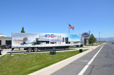 Utility Trailer Manufacturing Legacy Museum Trailer in Utah (Photo: Business Wire)