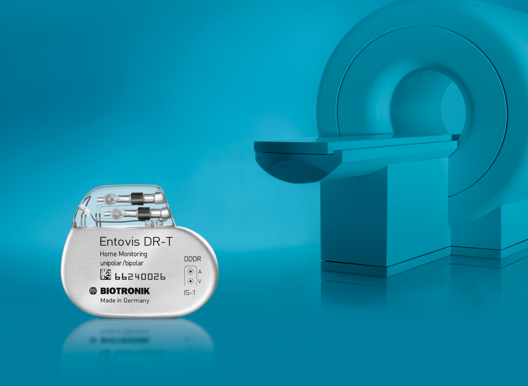 BIOTRONIK Entovis Dual-Chamber Pacemaker with ProMRI Technology (Photo: Business Wire)