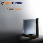 Concept model of SolarWindow™ Insulated Glass Unit (IGU) (Photo: New Energy Technologies, Inc.)