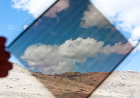 Electricity-Generating SolarWindow™ Module, Being Developed in Architecturally-Neutral Colors (Photo ...