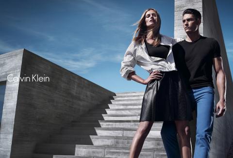Calvin Klein white label S'14 advertising campaign: © 2014 Mario Sorrenti