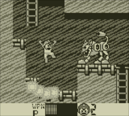 Mega Man's Game Boy adventures continue in Mega Man II. (Photo: Business Wire)