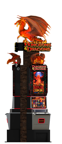 Konami Gaming, Inc. is unveiling all-new Dungeons & Dragons® themed slot machines at this year's Southern Gaming Summit and National Indian Gaming Association (NIGA) Gaming Show. (Photo: Business Wire)