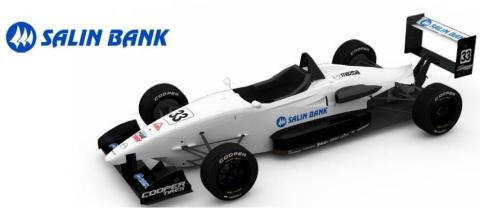 Salin Bank & Trust Company sponsors John Cummiskey Racing for the USF2000 Race at the Indianapolis Motor Speedway. (Photo: Business Wire)