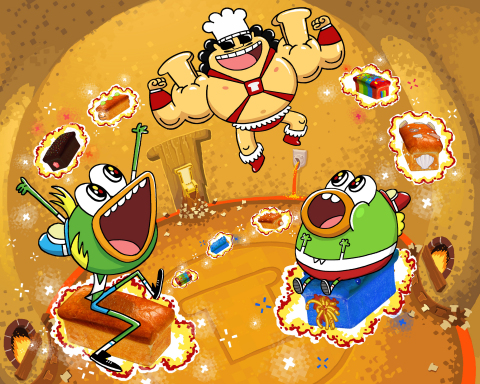 Nickelodeon Orders a Second Season of Hit Animated Series Breadwinners (Photo: Business Wire)