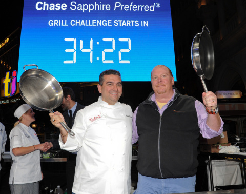 Chase Sapphire Preferred Grill Challenge (Photo: Chase Sapphire Preferred)