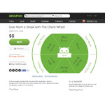 Groupon has last-minute Mother's Day deals, including the Chore Wheel, Official Time Out for Mom and the Siblings Peace Treaty. (Graphic: Business Wire)