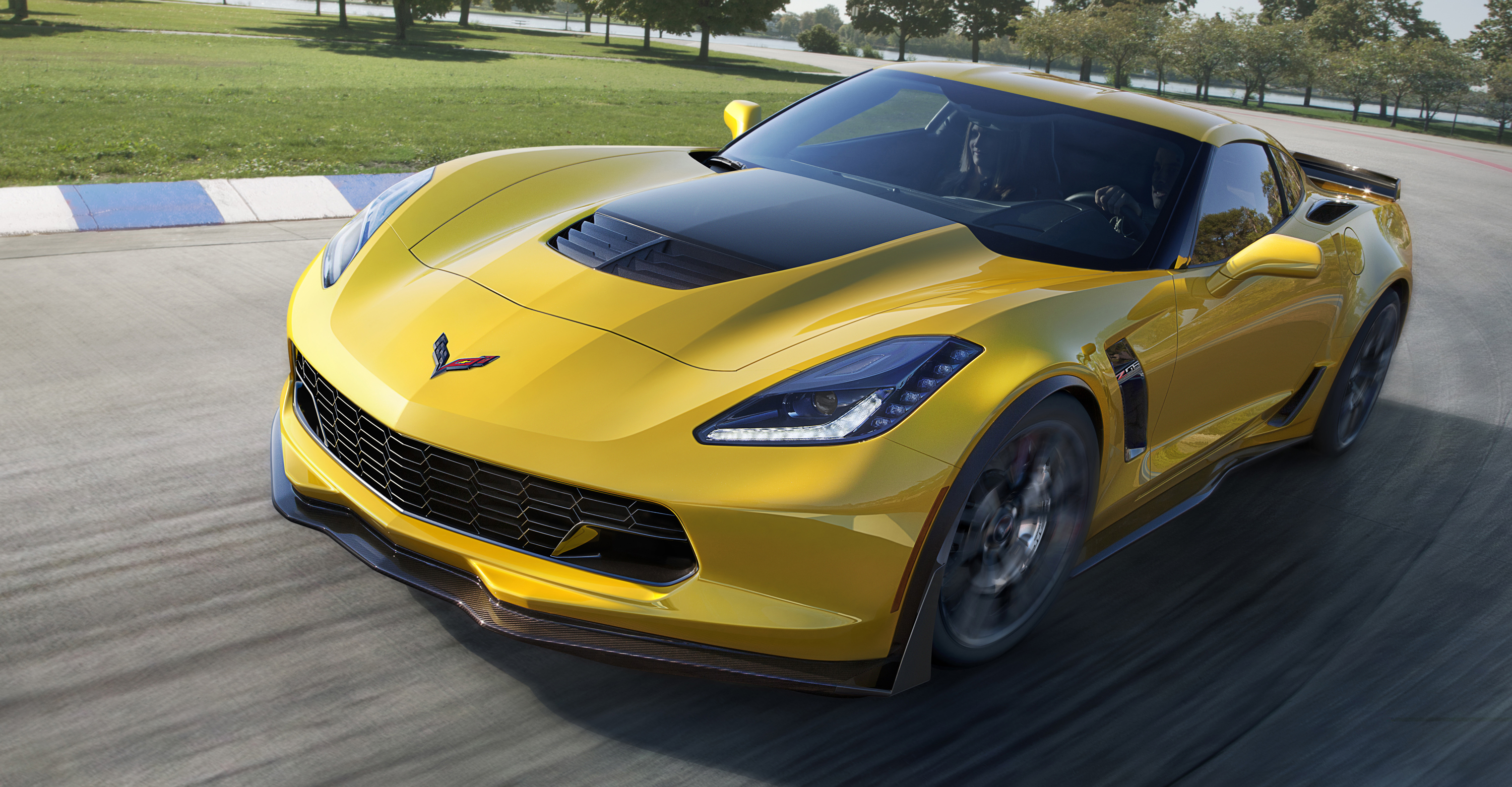 Chevrolet has chosen Mobil 1™ motor oil as factory fill for the highly anticipated 2015 Corvette Z06 (pictured) and the 2014 Corvette Stingray with the Z51 Performance Package. (Photo: Business Wire)