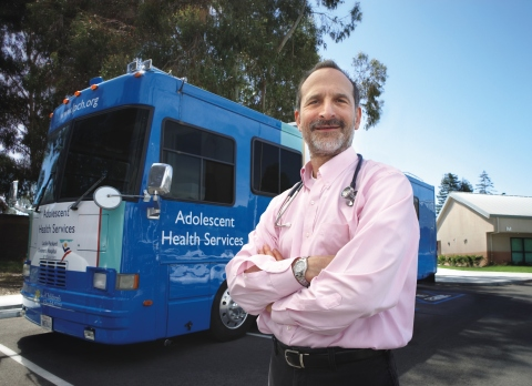 Seth Ammerman, MD, medical director of Mobile Adolescent Health Services at Lucile Packard Children's Hospital Stanford, has received a Bay Area Jefferson Award, which honors public service achievements in local communities. (Photo: Business Wire)