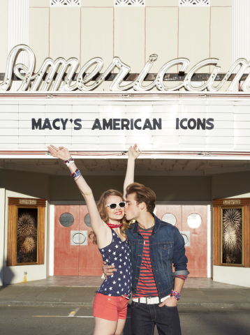 Macy's American Icons campaign kicks off on May 14 in stores nationwide and on macys.com/americanico ...