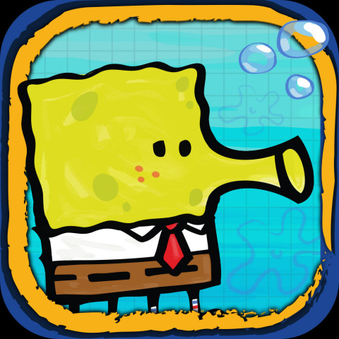 Doodle Jump SpongeBob SquarePants (Graphic: Business Wire)
