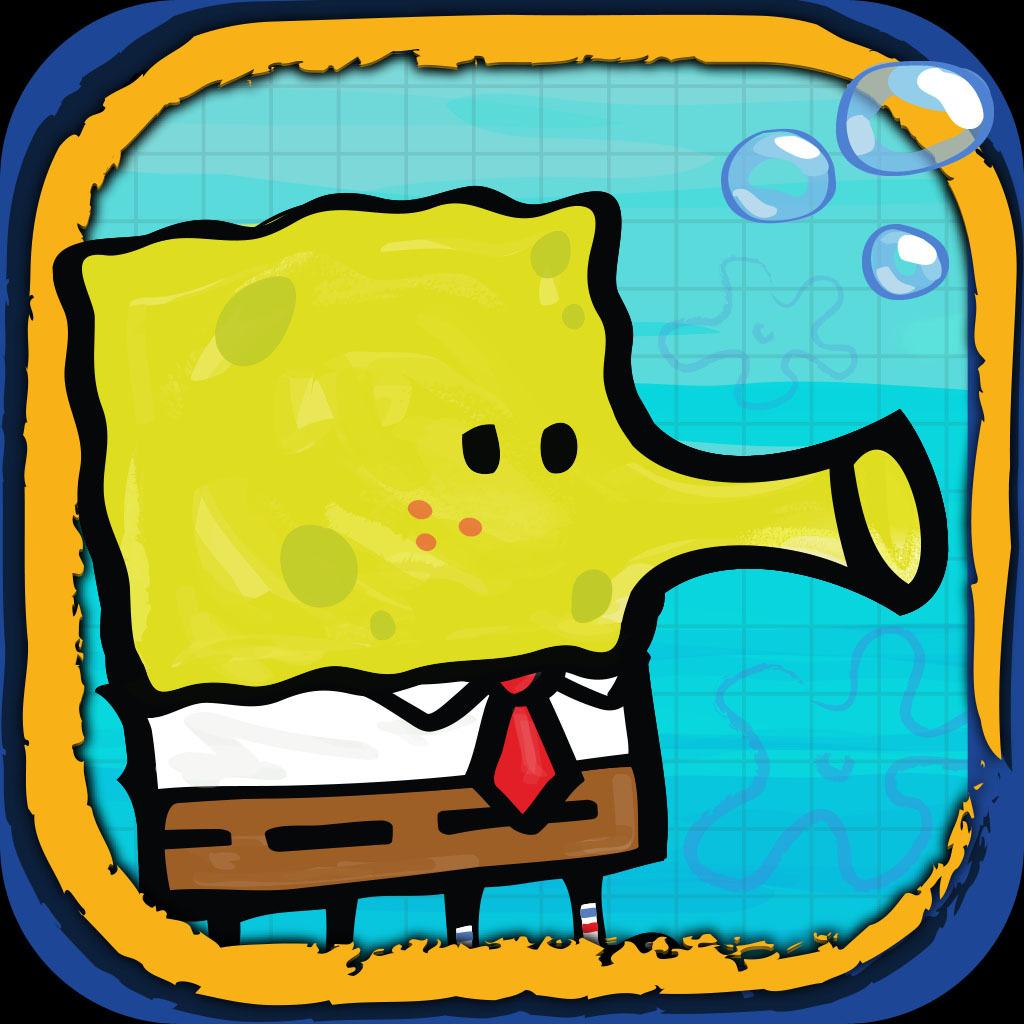 Doodle Jump SpongeBob SquarePants (Graphic: Business Wire)