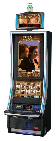 Bally Technologies' TITANIC slot machine will be on display at G2E Asia. (Photo: Business Wire)
