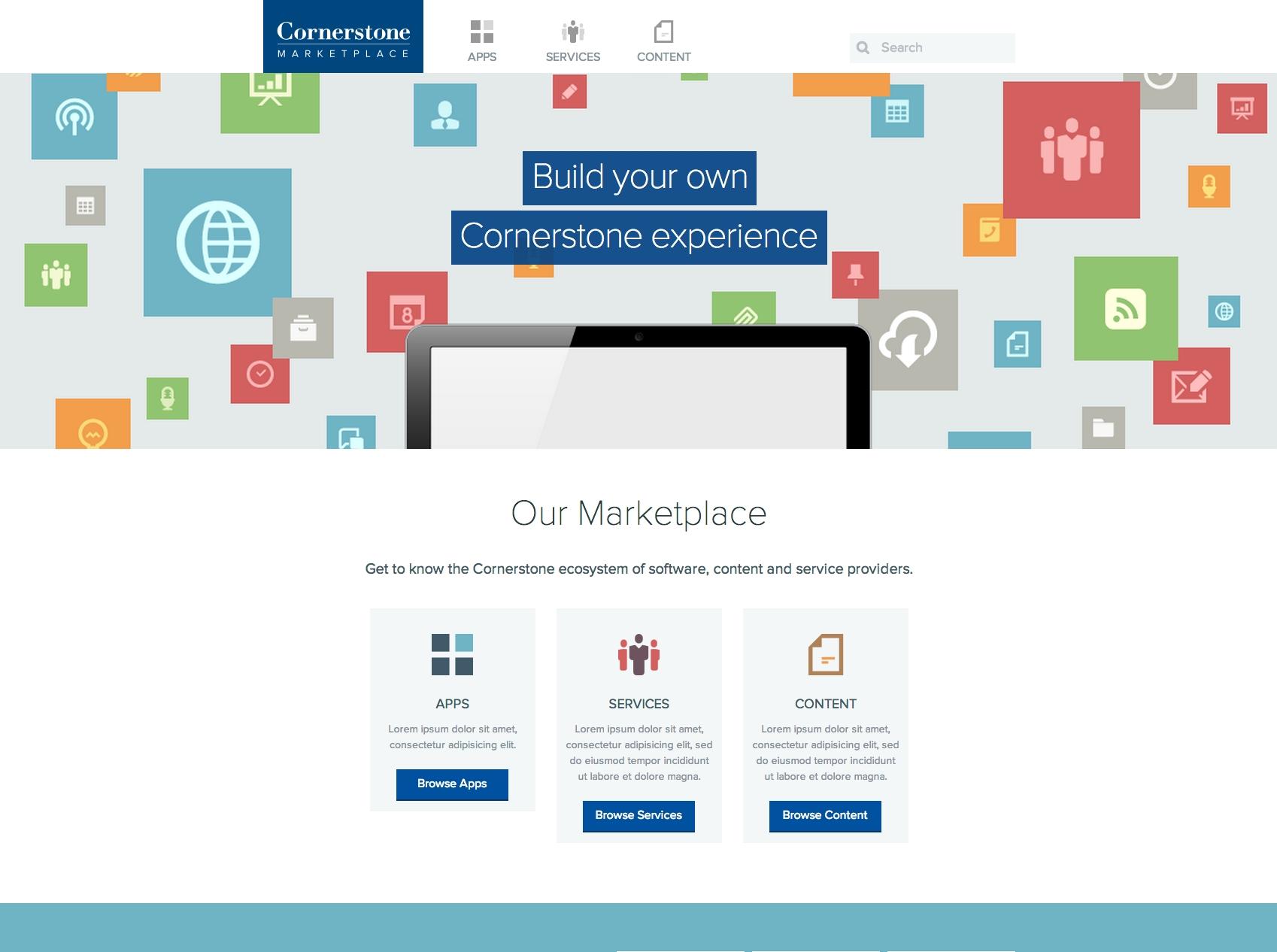 Cornerstone Marketplace (Graphic: Business Wire)