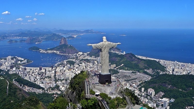 resembles the 'Christ the Redeemer' erected in Rio de Janeiro (Photo: Business Wire)