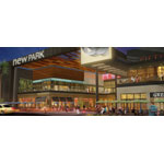Rendering of NewPark Mall Restaurant Entry (Photo: Business Wire)