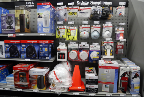 Staples debuted eight new product categories in its Dallas retail stores to help business customers  ...