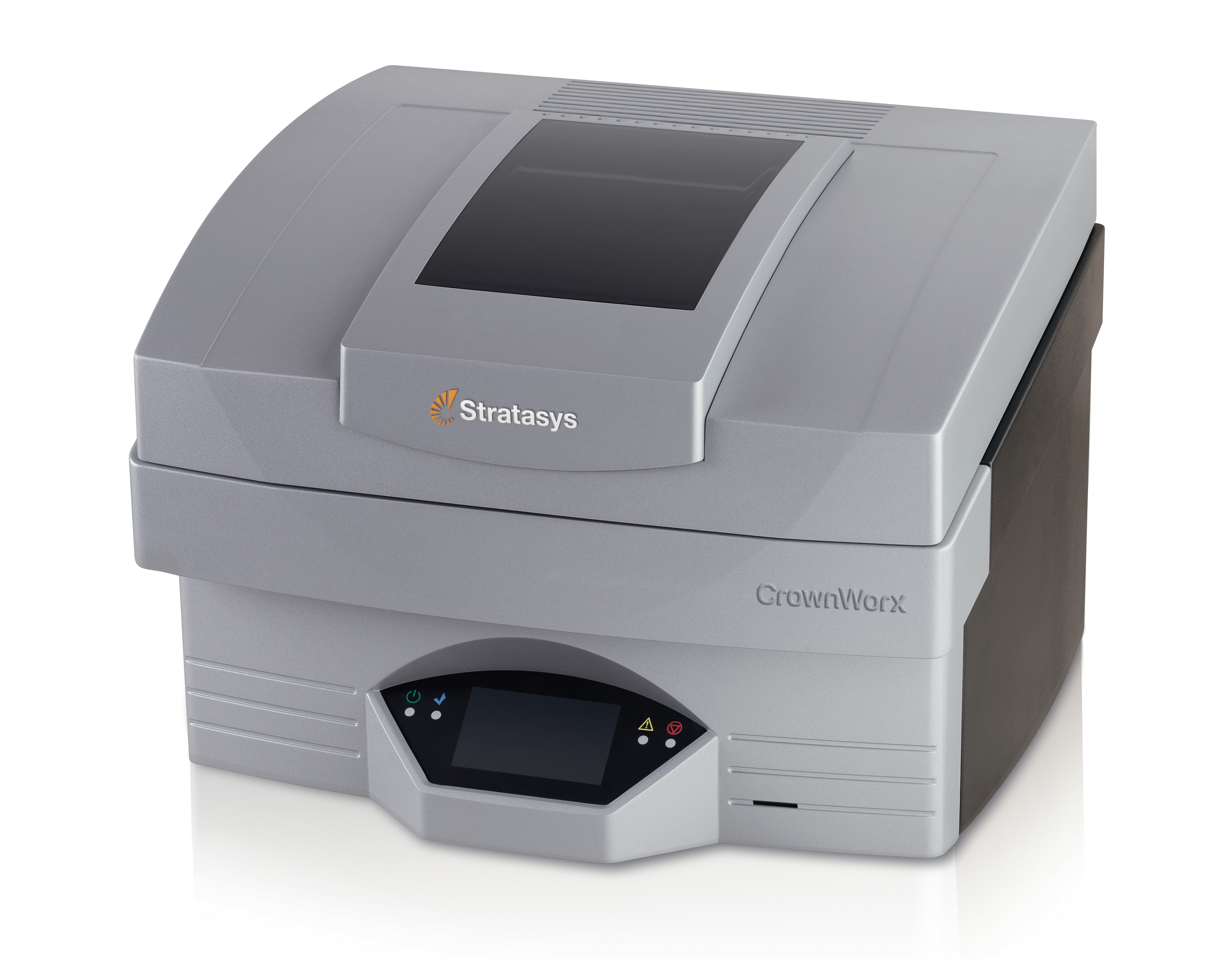 The Stratasys CrownWorx dental 3D printer produces wax-ups for crowns and bridges. (Photo: Stratasys)