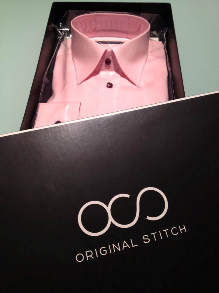 Design your own unique dress shirt from over 176 trillion design combinations. Made in Japan and delivered to your door in a beautiful box. (Photo: Business Wire)